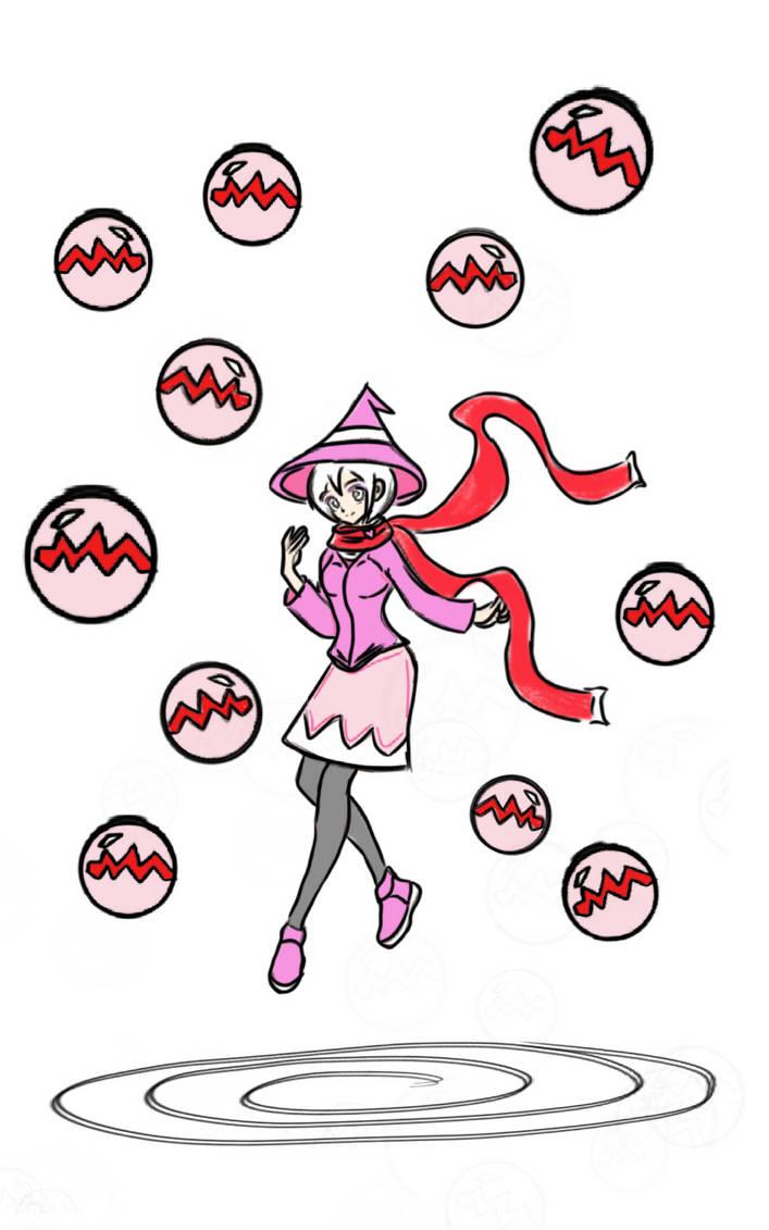 Witch Girl 33! Eli by Ian2410