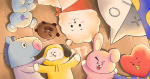 [BTS] DRAW BT21 by KoNaYUkI-187