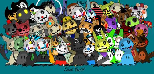Thank You!!! by LittleMimikyu