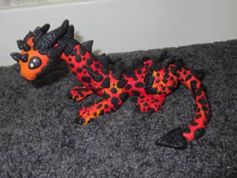 Fire dragon by Dragonsculpt