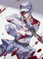 Cells At Work! - White Blood Cell by KrystalSxxx