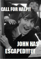 HE HAS ESCAPED by LOLbeatles