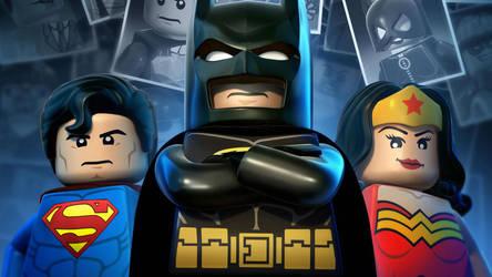 Lego Superman Batman by femfoyou