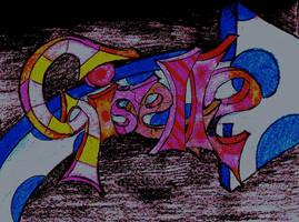 Graffiti Giselle by DoggyArt