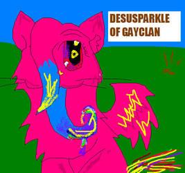 DESU DESU SPARKEL by MeowingWolf200
