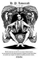 H.P. Lovecraft by eddaviel