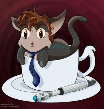 Kitty-Doctor's Tea by Kitzira
