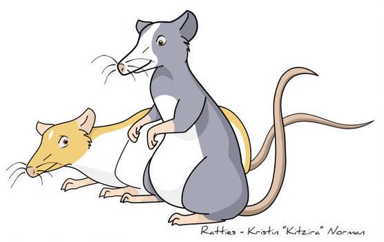 Random Ratties by Kitzira