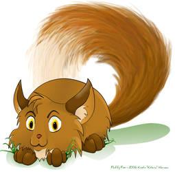 Fluffy Fox by Kitzira