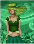 Green pockets by Atramina
