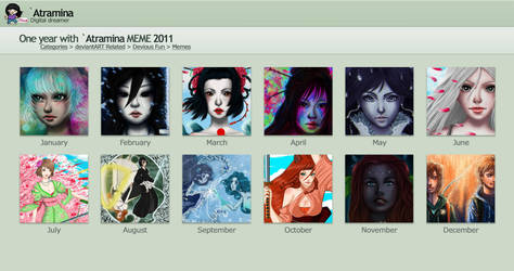 A Year of art 2011 by Atramina