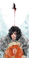You know nothing Jon Snow by Atramina