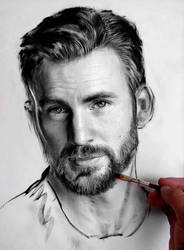 Chris Evans by Jesuzillo