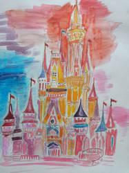 Cindrella castle by Diakoart