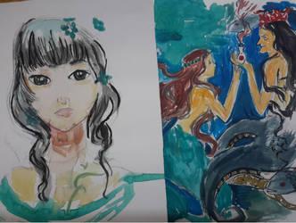 Art of qinni by Diakoart
