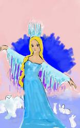 snow queen by Diakoart