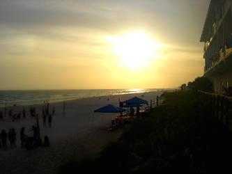 beach camp by rosecoloredglass