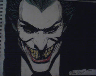 Joker: Sinister Smile by KaneFan57