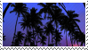 palm trees stamp by odidos