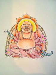 buddha by themothgirl
