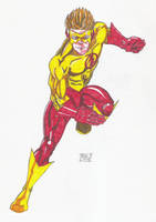Kid Flash Markers by Glwills1126