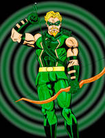 Green Arrow colors by Glwills1126