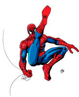 Spider-Man Swinging Colors by Glwills1126