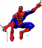 Spidey 2-5 colored by Glwills1126