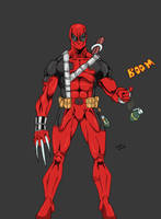 deadpool colors by Glwills1126