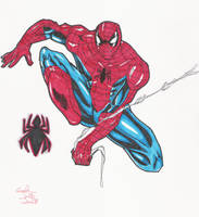 spidey 9-25 markers by Glwills1126