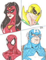 New Avengers by Glwills1126