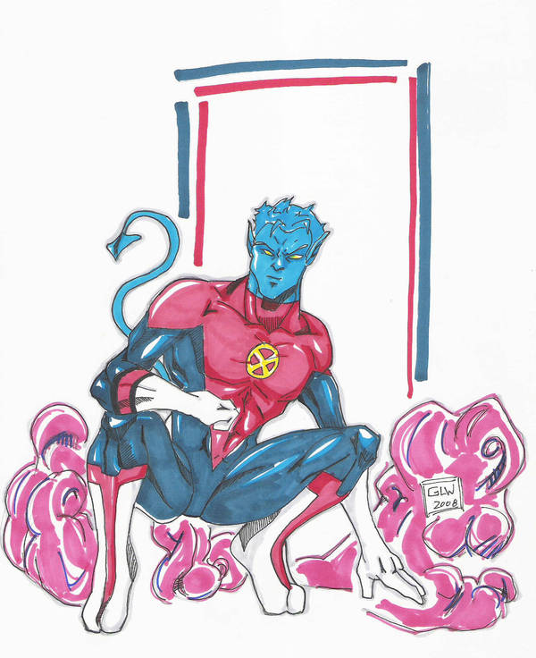 Nightcrawler Markers 11-25 by Glwills1126