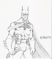 Batman sketch 1-12 by Glwills1126