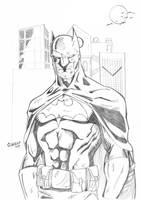 Batman sketch 3-11 by Glwills1126