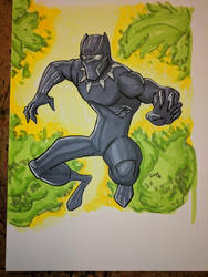 Black Panther 2-24-18 by Glwills1126