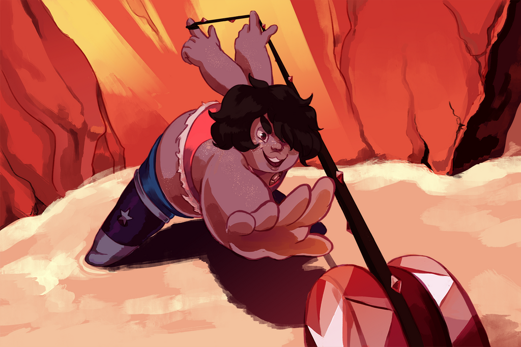 I really like the recent steven universe episodes and it made me wanna draw something, even if i never thought i would work on it this much but im pretty happy with it!!! You can buy something with...