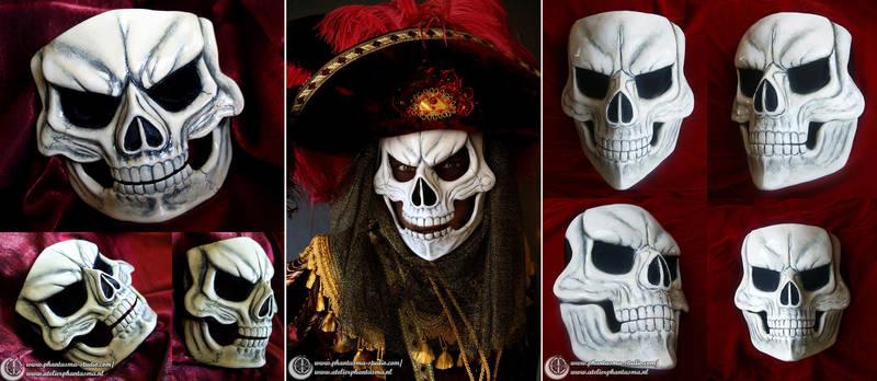 Red Death Mask ~ Phantom of the Opera by Phantasma-Studio