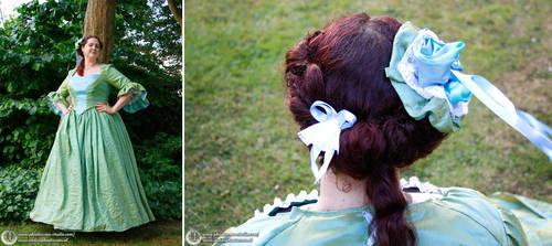 Green Fairytale Dress by Phantasma-Studio