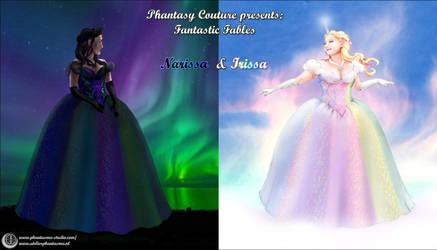 Introducing: Narissa and Irissa ~ Phantasy Couture by Phantasma-Studio