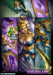 Alicia Goes Wonderland 2 preview 2 by zzzcomics