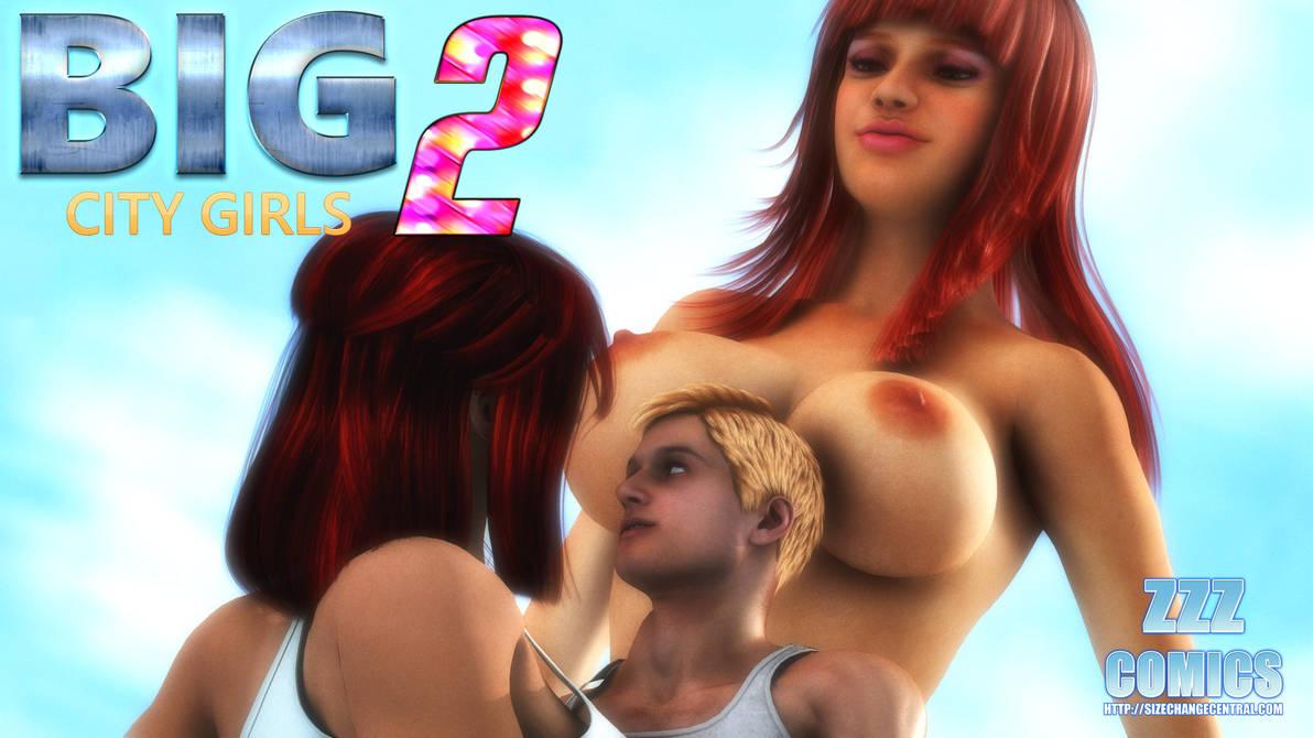 Big City Girls 2 IS HERE! by zzzcomics