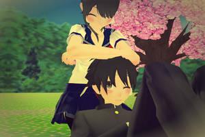 Ayando/Yuta cute scene by PersempreKH