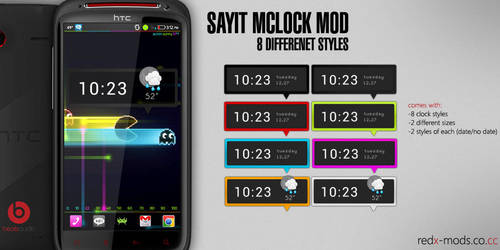 SayIt mClock mod by R3D-X7
