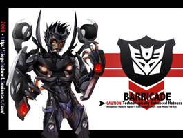 TF Movie -Barricade- by Meiphon