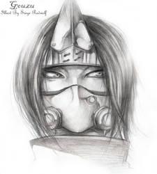 Demon Brother Gouzu Sketch by Meiphon