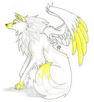 Light Wolf by CaptainMorwen