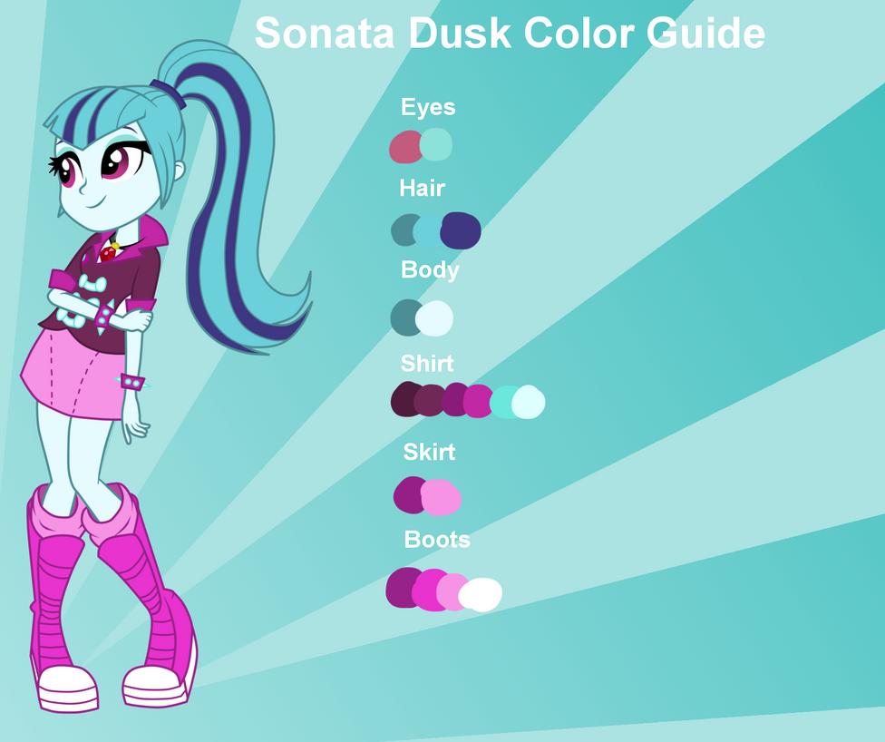 Sonata Dusk Color Guide By Nightfang123 On Deviantart