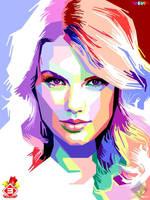 Taylor Swift in WPAP by FajryAlFatih