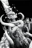 Hungry Worm by SergiyKrykun