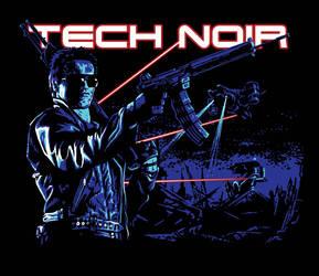 Tech Noir / Terminator by SergiyKrykun